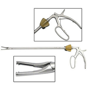 New Clip Release Forceps 5x330mm For Hem o lok Clip Xl Size Yellow Surgery