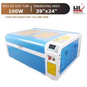 Reci 100w Co2 Laser Cutting Machine Laser Cutter Engraver 1000x600mm Auto focus