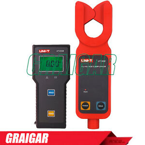 Uni t Ut255b Wireless Transmission 69kv High Voltage Leakage Current Clamp Meter