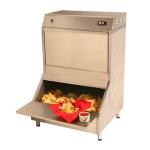 Carter hoffmann Cw4 Bulk Nacho Chip Warmer With Forced Air Heating