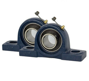Ucp210 31 Pillow Block Bearing 1 15 16 Bore 2 Bolt Solid Base 2pcs