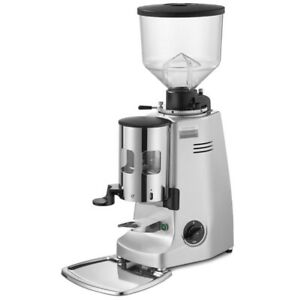 Mazzer Major Automatic Espresso Grinder Silver new Authorized Seller