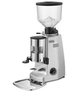 Mazzer Major Timer Espresso Grinder Silver new Authorized Seller