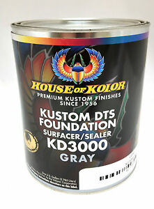 House Of Kolor Dts Foundation Primer Surfacer Sealer Gray Gallon
