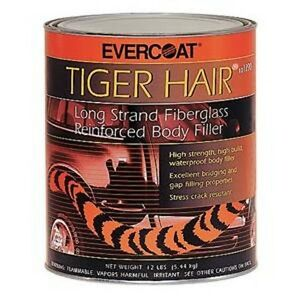 Evercoat Tiger Hair Fiberglass Reinforced Body Filler Quart