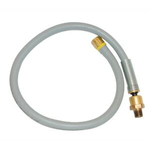 Amflo 25l 24bd Ball Swivel Lead In Hose Assembly 1 4 X 24 And 1 4 Npt
