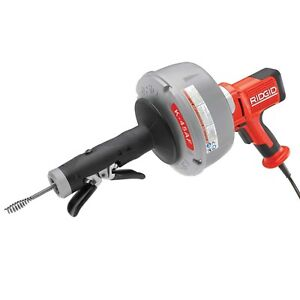 Ridgid K45 Autofeed Drain Pipe Cleaner Sink Plumbing Cable Cleaning Power Tools