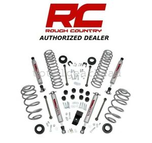 2003 06 Jeep Wrangler Tj 3 25 Rough Country Suspension Lift Kit 4 Cyl perf643