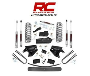 1980 1996 Ford F 150 Bronco 4wd 6 Rough Country Suspension Lift Kit 470 20