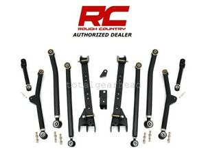 1997 2006 Jeep Wrangler Tj 4wd 4 6 Rough Country Long Arm Upgrade Kit 66300u