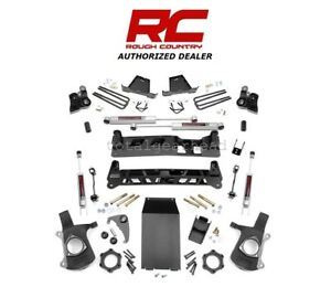 1999 2006 Chevrolet Gmc 1500 4wd 6 Rough Country Lift Kit W n3 27220a