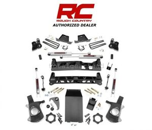 1999 2006 Chevrolet Gmc 1500 4wd 4 Rough Country Lift Kit W n3 25820