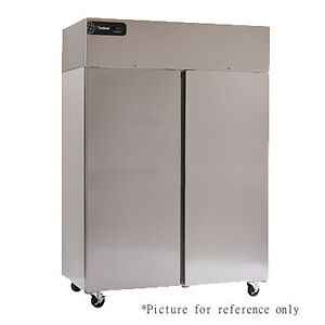 Delfield Gbsr2p s Reach in Refrigerator With Two Sections