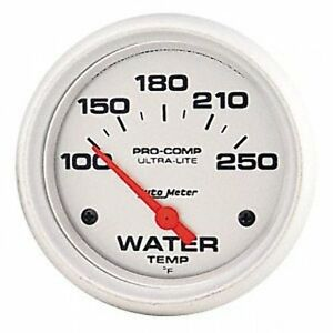 Auto Meter 4337 Ultra Lite Electric Water Temperature Gauge