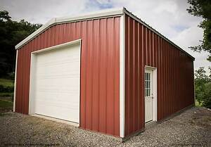 Thunderbolt Steel Buildings 25 X 40 X 16 Clear span Metal Garage Kit