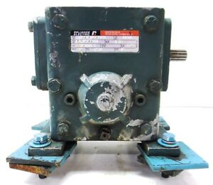 Relaince Electric tiger Speed Reducer Ratio 50 1 2 Hp Mo79165 70 wk