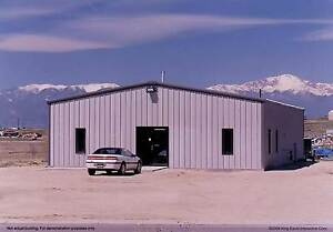 Thunderbolt Steel Buildings 30 X 45 X 15 Metal Building Garage Kit