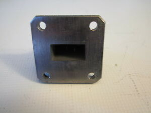 Fmi Flann 17093 sf40 Waveguide Transition Sma Female Wr75 Flange 10 15ghz