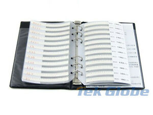 0201 Smd Resistor 5 106 Values 5300pcs Sample Book Assortment Kit
