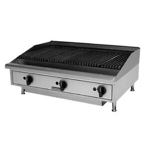 Toastmaster Tmrc24 Natural Gas Countertop Radiant Charbroiler 24 W