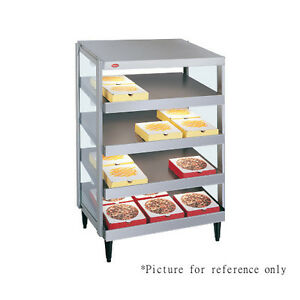 Hatco Grpws 3618q Countertop Pass thru Pizza Warmer W Quadruple Slanted Shelves