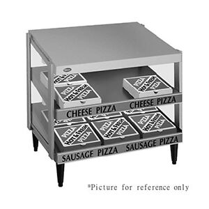 Hatco Grpws 4824d Countertop Pass thru Pizza Warmer With Double Slanted Shelves