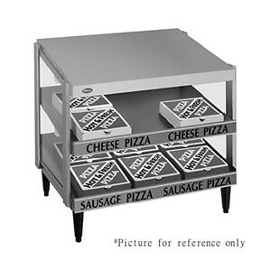 Hatco Grpws 2424d Countertop Pass thru Pizza Warmer With Double Slanted Shelves