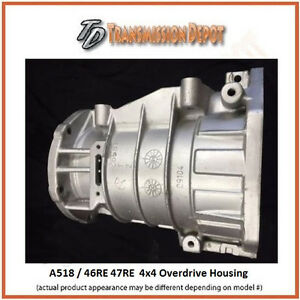 44re 46re 47re A500 A518 Remanufactured Dodge Gas Overdrive Section 4x4 Only