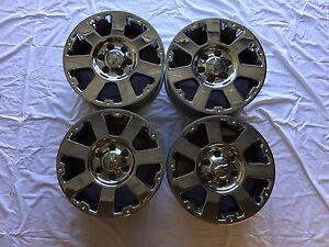 Lightly Used Stock Chevy Chrome 18 Rims