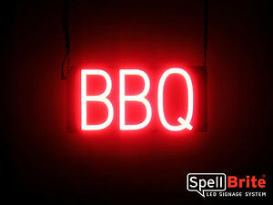 Spellbrite Ultra bright Bbq Sign Neon led Sign neon Look Led Performance