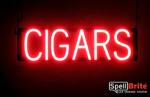 Spellbrite Ultra bright Cigars Sign Neon led Sign neon Look Led Performance