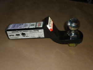 U Haul Powertow Hitch Ball Mount 2 Ball With 2 1 4 Drop Uhaul Class 3 Bulk