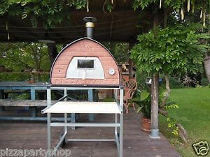 Wood Fired Pizza Oven 70x70 Pizza Party Original Bronze Door With Glass