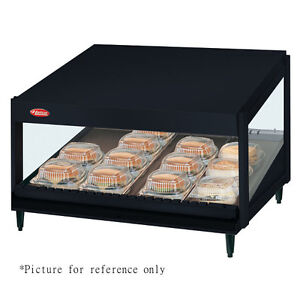 Hatco Grsds 24 Countertop Display Warmer With 5 Dividing Rods And Slanted Shelf
