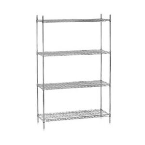 Advance Tabco Egg 1836 36 Wire Shelving Unit