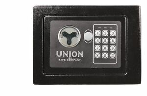 0 19 Cubic Ft Electronic Digital Safe Home Gun Lock Box Security Keypad Office