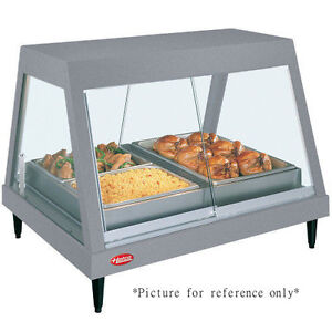 Hatco Grhdh 3p Countertop Heated Deli Display Case With 3 Qt Humidity Capacity