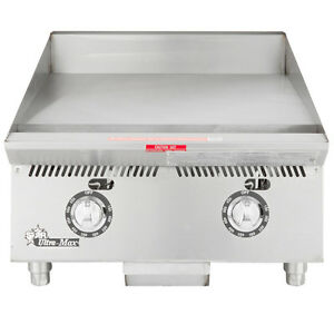Star 824ta 24 Countertop Gas Griddle W Thermostatic Controls