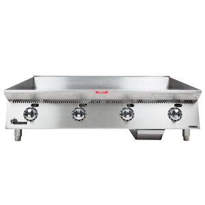 Star 848ta 48 Countertop Gas Griddle W Thermostatic Controls