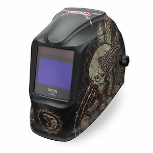 Lincoln Viking Graveyard Shift 2450 3 Welding Helmet K3099 3
