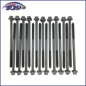 Brand New Head Bolts Set For 91 10 Ford 4 6l 5 4l F150 Mustang Expedition