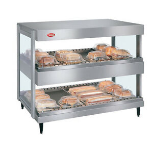 Hatco Grsdh 24d Display Warmer With 10 Divider Rods And 2 Horizontal Shelves