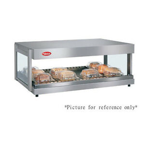 Hatco Grsdh 60 Horizontal Shelf Multi product Display Warmer W 12 Divider Rods
