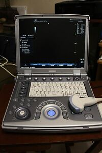 Portable Ultrasound Machine Ge Logiq I 2007 With 2 Transducers