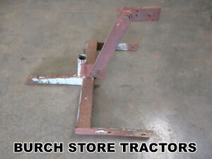 Official Ih 1 Point Fast Hitch Spring Tooth Harrow For Farmall Cub Tractors