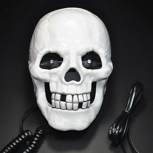 Sino Dental Art Dentist Figurine Dentist Sculpture Gift Skull Funny Telephone