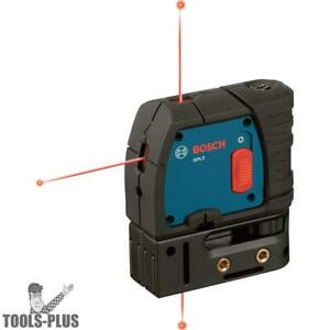 Bosch Tools Gpl3 3 point Self leveling Alignment Laser New