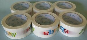 Ebay Shipping Sealing Packaging Packing Tapes 6 Rolls