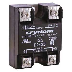 Solid State Relay 3 To 32vdc 25a Crydom D2425 10