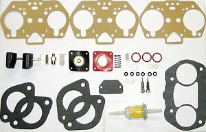 Pair Weber 40 44 48 Idf Carb Rebuild overhaul Kits With Float Hpmx 40 44